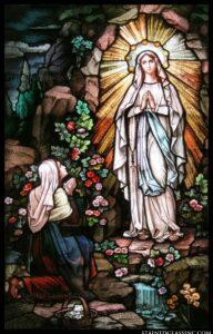 Prière à Notre dame de Lourdes